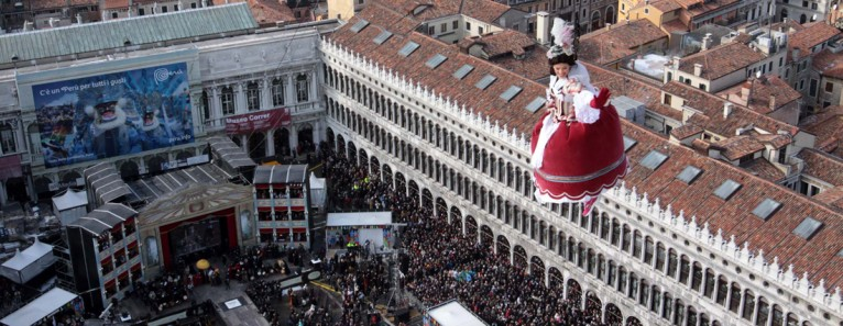 Venice carnival events and history