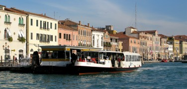 Getting around in Venice – Vaporetti