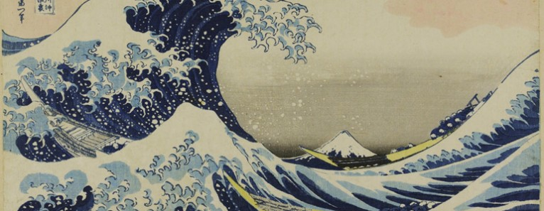 The Great Wave by Hokusai in Venice