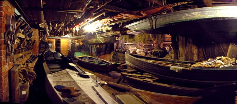 Arzanà: a secret Museum of old Venetian Boats