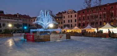 Ice Skating Rink in Venice