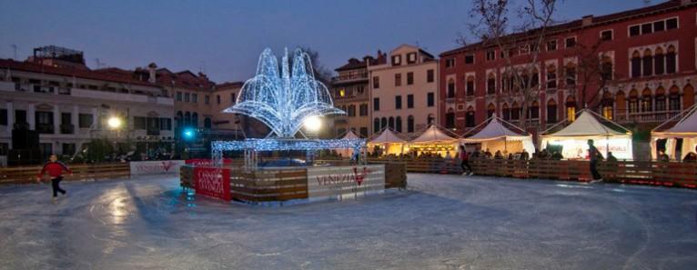 Ice Skating Rink in Venice