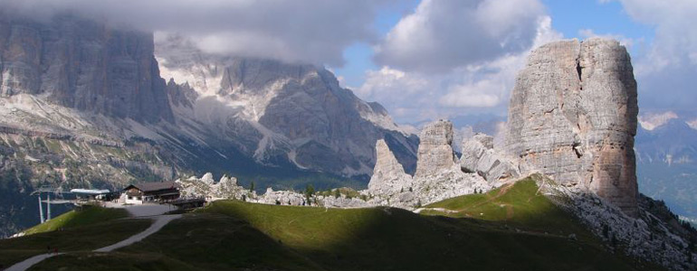 Tour of the DOLOMITES with car or Minivan