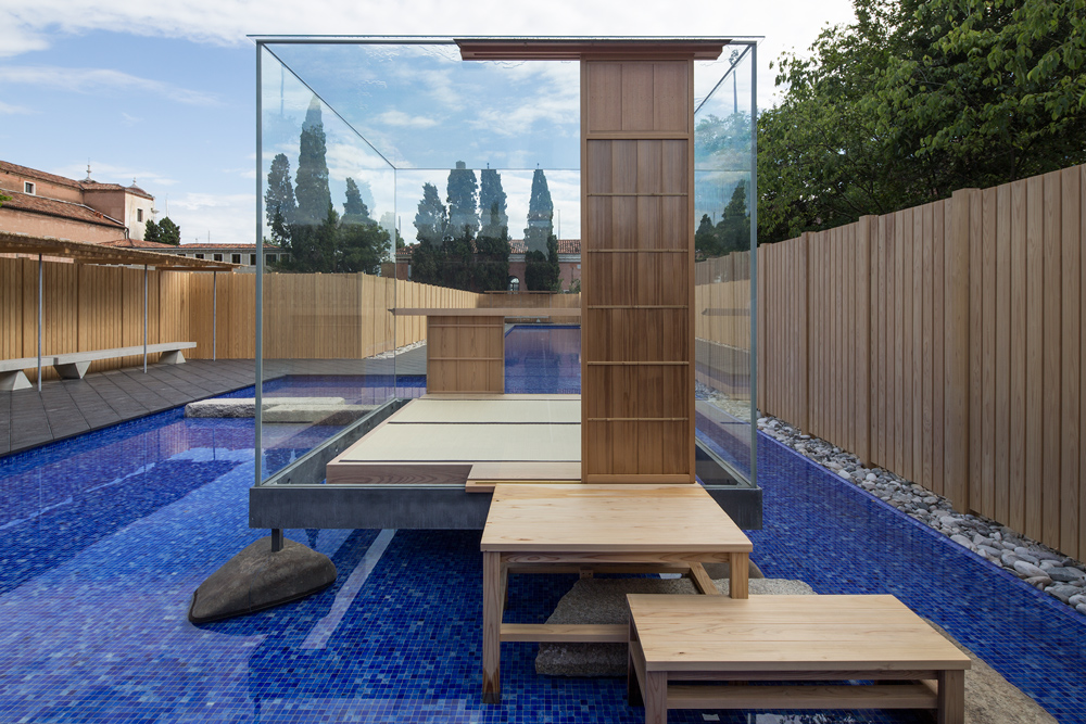 Glass Tea House Mondrian
