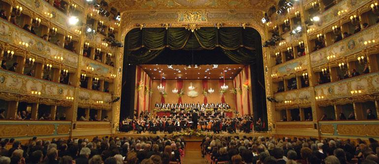 New Year's Concert at La Fenice Theatre