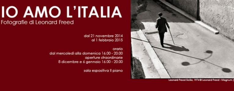 Leonard Freed – I love Italy