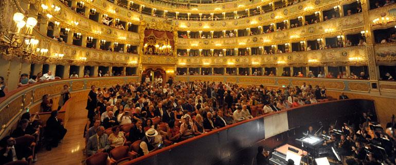 Lyric Season 2014/2015 of the Theatre La Fenice