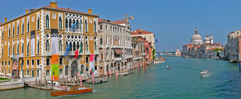 Gondola Ride along Grand Canal