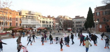 Venice on ice: the ice skating rinks in Venice, Mestre and Marghera
