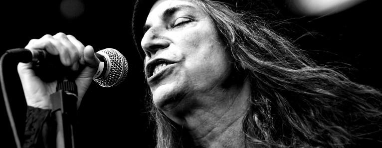 Patti Smith, the rock priestess live in Venice on June 9