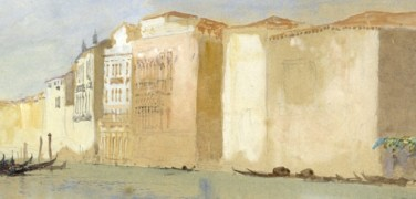 The Stones of Venice. An exhibition dedicated to Ruskin at Palazzo Ducale
