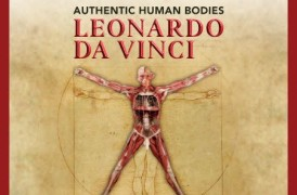 Authentic human bodies. 50 works by Leonardo da Vinci