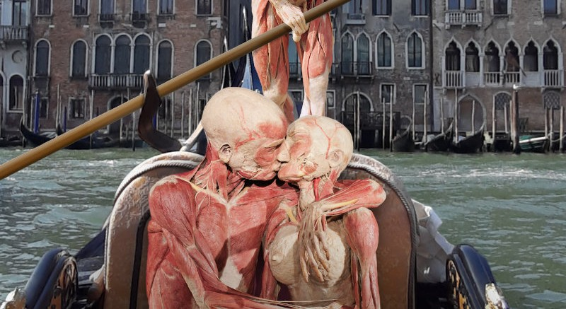 "Real Bodies: ""Human Art"" at Palazzo Zaguri in Venice"